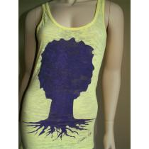 Deeply Rooted Logo Tree (tank)