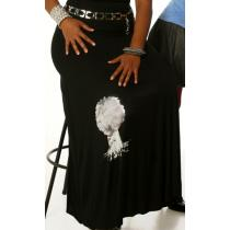 Deeply Rooted Logo Skirt