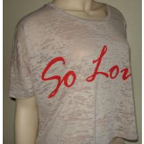 So Loved Crop Tee